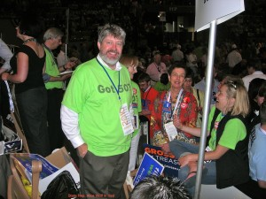 Brian Murphy and Alice Wolf at convention 2010