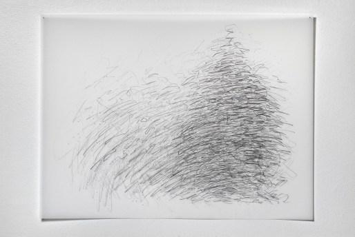 "Untitled #27, graphite on vellum, 19 x 24"", 2009"