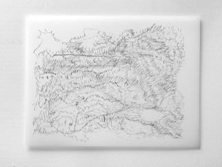 """9.28.12, graphite on vellum, 19 x 24"""", 2012"""