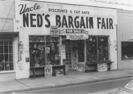Ned's Bargain Fair (now demolished) on Main Street in Berlin MD