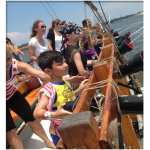 Man the cannons on field trip aboard a pirate ship