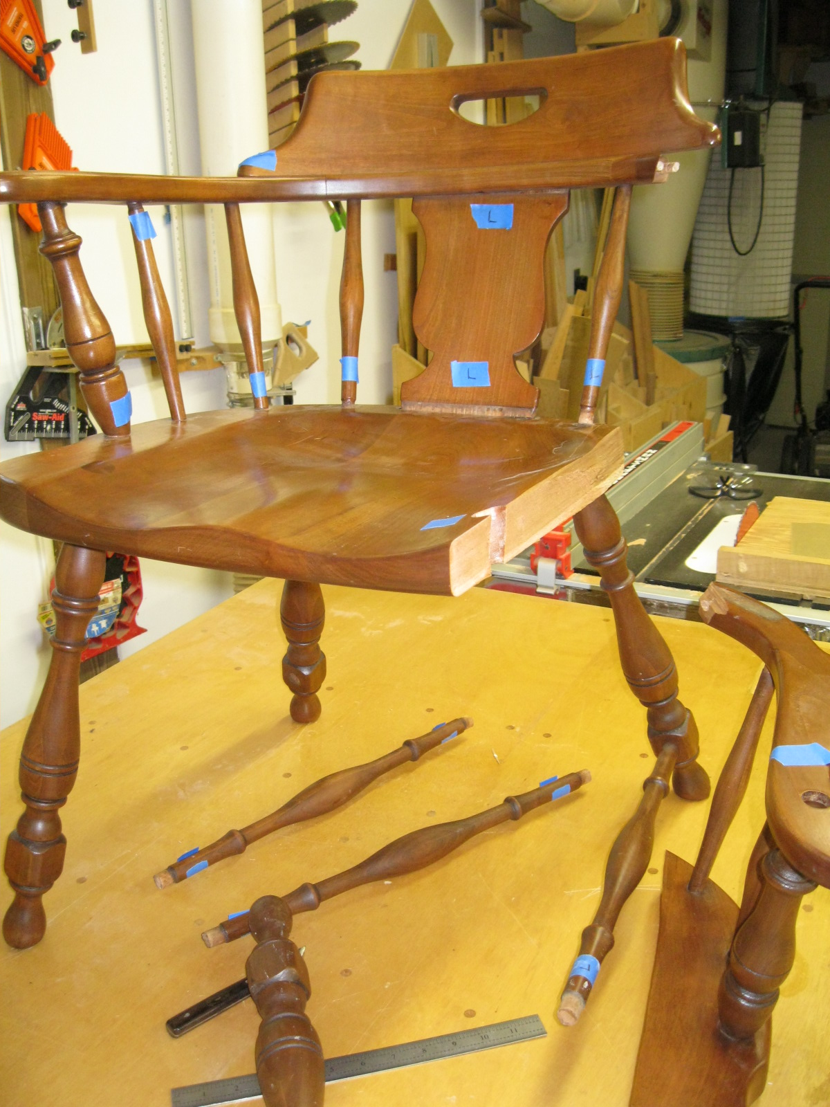 Chair Repair Parts Chair Repair Part 1 Chesapeake Woodworking