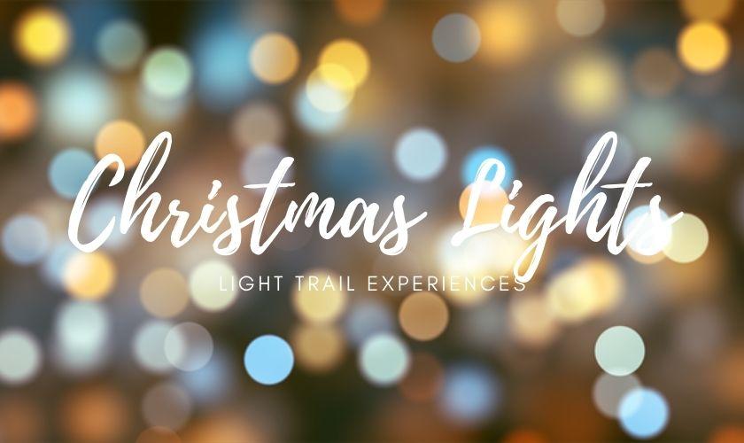 christmas light trails 2020, christmas lights 2020, christmas illuminations 2020
