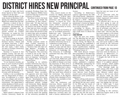 District Primcipal Fraud