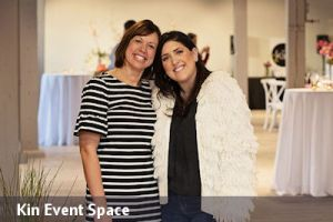 the owner and manager of Kin Event Space