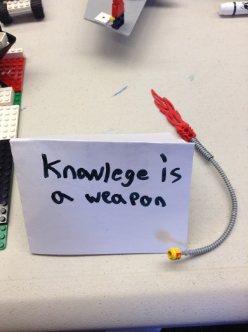 Knowledge is a Weapon
