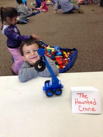 The Haunted Crane