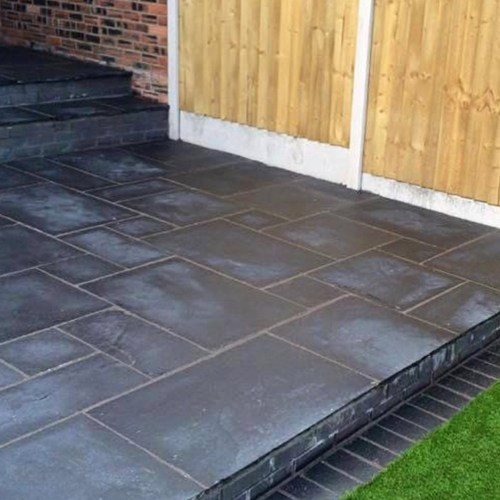 black lime sandstone