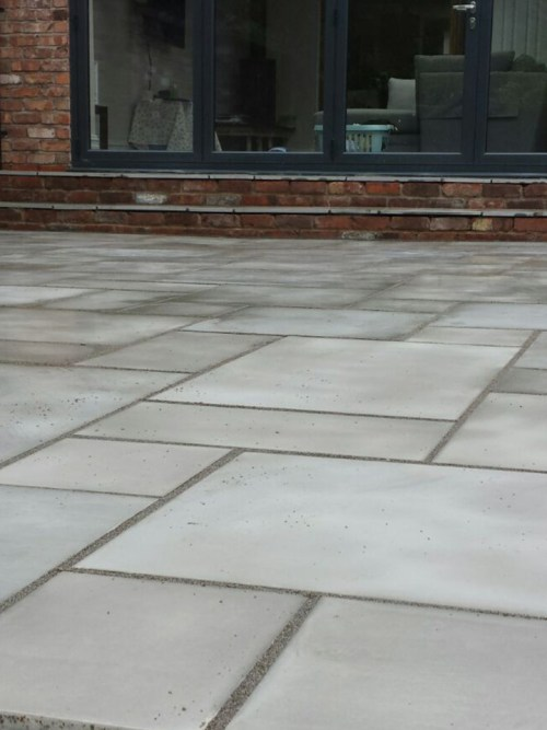smooth grey sandstone