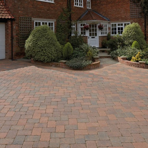 amalfi Carrara Stone Block Paving