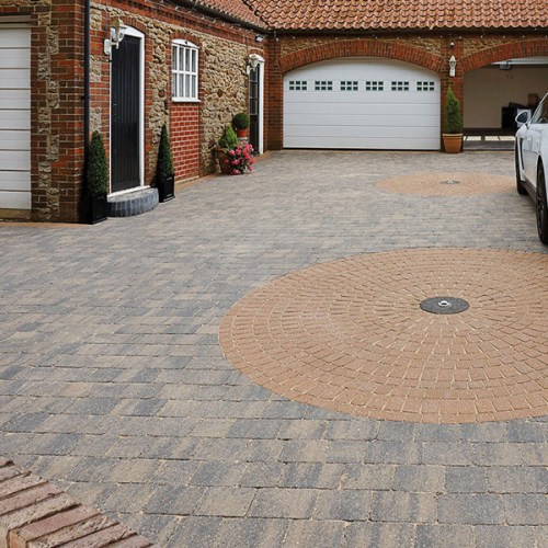 como buff Block Paving