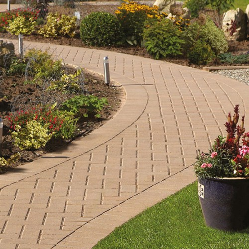 plaspave 50 buff block paving