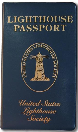 Lighthouse Passport Book