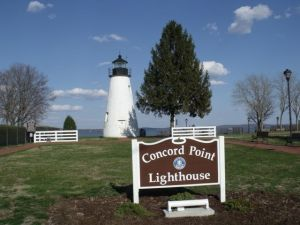 Photo by Tony Pasek: Concord Point Lighthouse