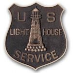 US Lighthouse grave marker