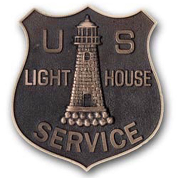 US Lighthouse grave marker