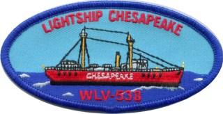 Lightship Chesapeake Patch
