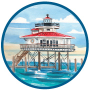 Choptank Lighthouse Artist Trading Coin