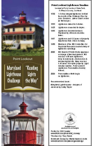 Point Lookout Bookmark
