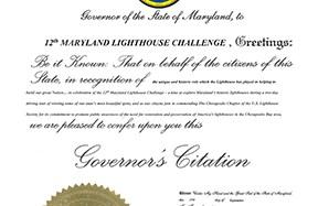 Maryland Governor's Citation