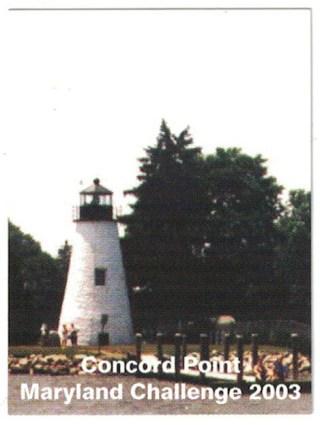 2003 Souvenir Stamp - Concord Point