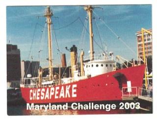2003 Souvenir Stamp - Lightship Chesapeake