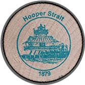 2005 Wooden Coin Souvenir-Hooper Strait
