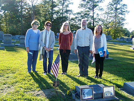 Descendants of honored Keeper Andrew Broaddus Sadler