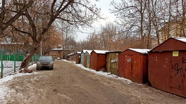 Микрорайон Северный гаражи