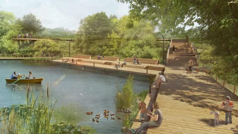 Проект благоустройства парка у ДТЮ разработают к декабрю