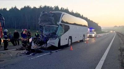 В ДТП с автобусом во Владимирской области пострадали 22 человека