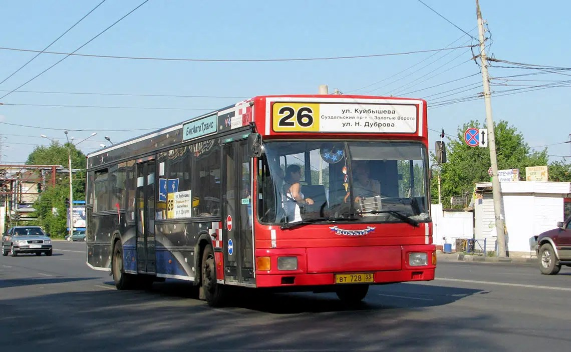 Автобус №26 во Владимире станет социальным