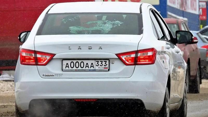 Во Владимирской области введут новые автомобильные номера