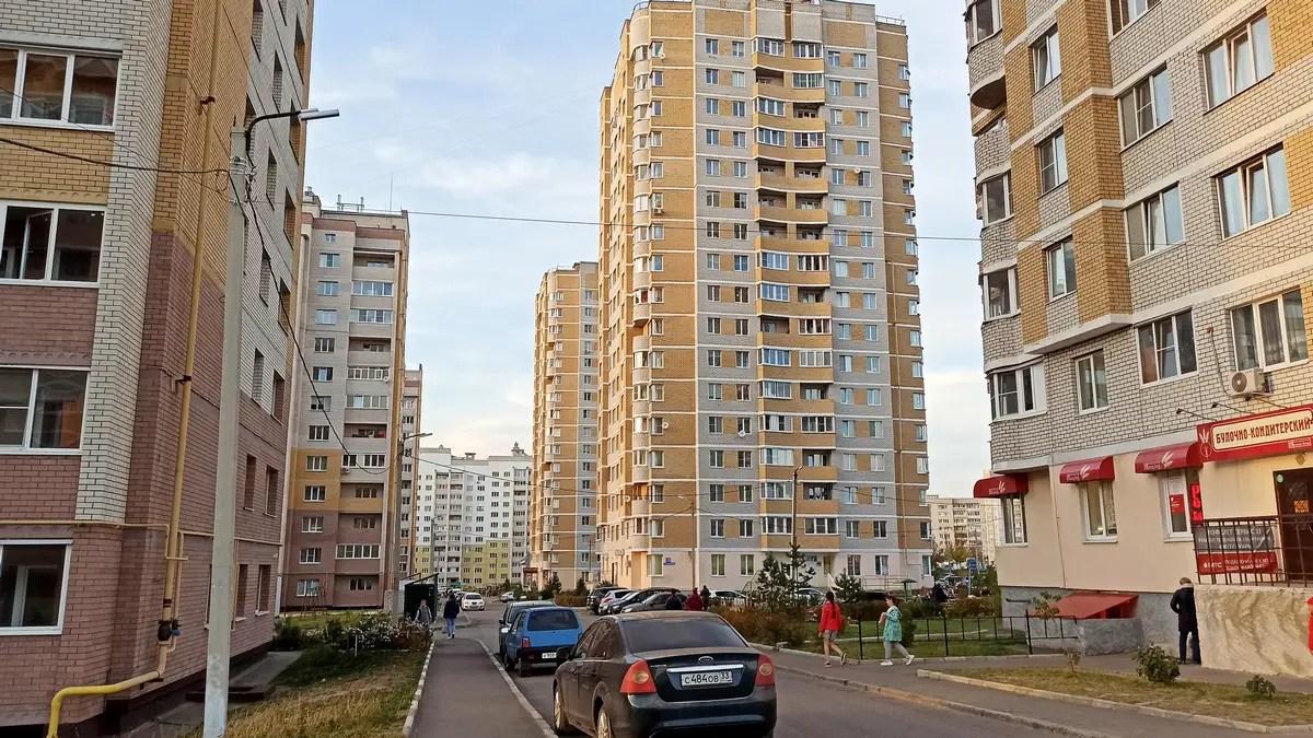 Рейтинг микрорайонов города Владимира: Юрьевец
