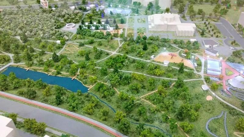 Власти Владимира обещают парк у ДТЮ без КСИЛа и торговых центров