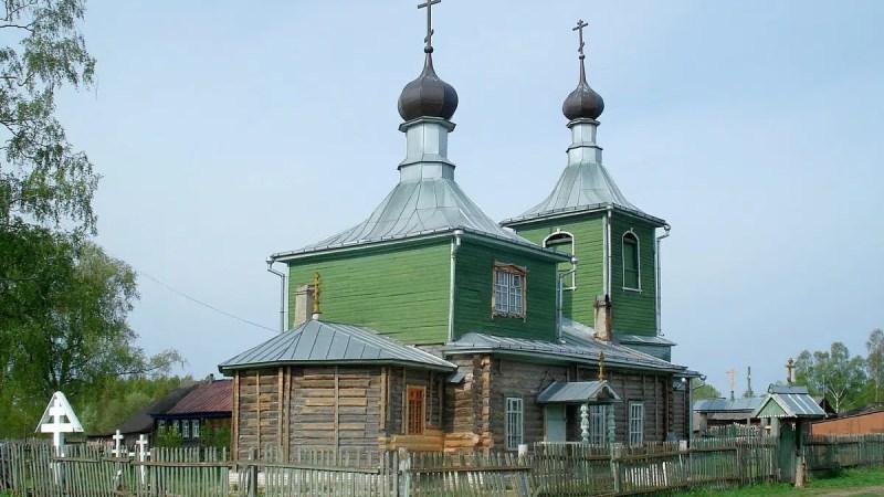 В Вязниковском районе сгорел храм старообрядцев