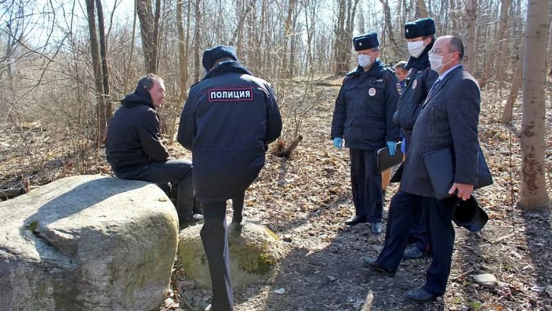Жителей Коврова штрафуют за «хождение по улице без уважительной причины»