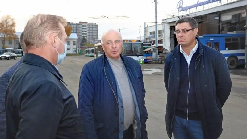 Авдеев пообещал обновить общественный транспорт Владимира