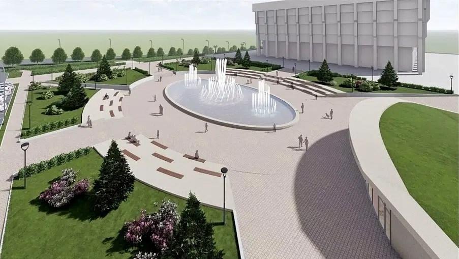Сквер за Белым домом превратится в ВДНХ в миниатюре