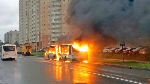 Волгабас горит