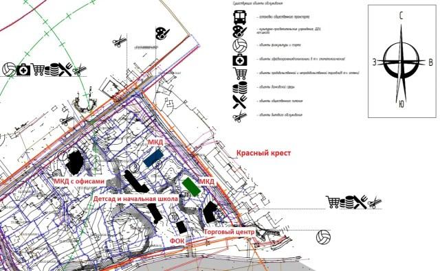Планы по застройке улицы Овражной