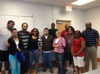 #FSUBroncos students at a recent a workshop in preparation for the upcoming conference
