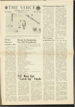 The Voice - May 20, 1969 - Founder's Day - Fayetteville State University