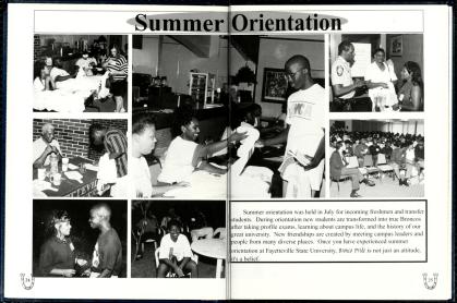 The Fayettevillian [1996] (Summer Orientation) via Chesnutt Library via DigitalNC - Wordless Wednesday