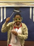 Ms. Lofton (Chesnutt Library Photo Booth), Homecoming 2013, Fayetteville State University)
