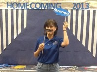 Mrs. Chan (Chesnutt Library Photo Booth), Homecoming 2013, Fayetteville State University)
