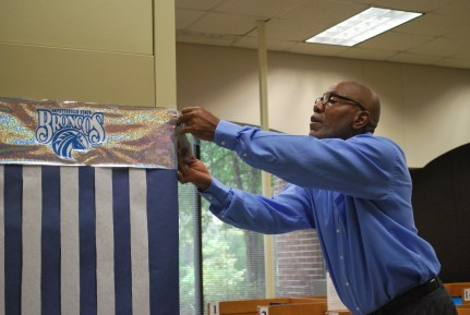 Mr. Foster (Chesnutt Library Photo Booth), Homecoming 2013, Fayetteville State University)