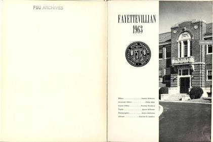 The Fayettevillian [1963], Fayetteville State University, Chesnutt Library (via DigitalNC)