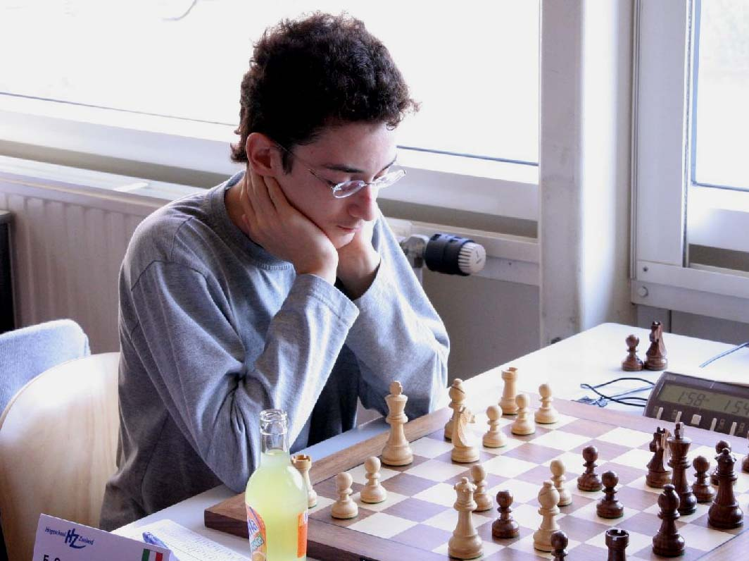 Caruana in action