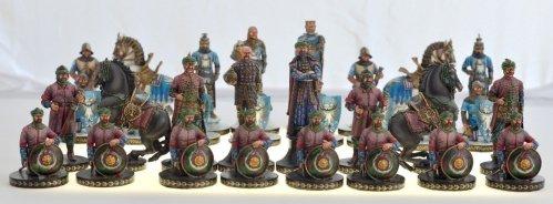 Crusaders versus Moors Chessmen
